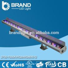 Открытый водонепроницаемый RGB 36 * 1 Вт Светодиодные стены стиральная машина с пультом дистанционного управления