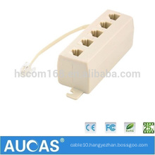 high quality US telephone adapter & accessories modular jack