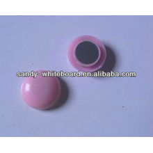 plastic magnetic button,plastic coated magnet,round magnetic button,whiteboard accessories,20mm XD-PJ201