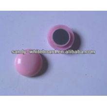 Пластиковая магнитная кнопка, магнит с пластиковым покрытием, круглая магнитная кнопка, аксессуары для доски, 20 мм XD-PJ201