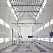 Équipement industriel de pulvérisation de cabine de séchage de peinture de camion