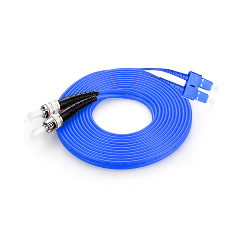 SC ST Armored Fiber Patch Cable