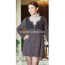 Luxury women sweater dresses/ 100% pure Cashmere jumper