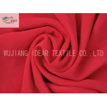 20D+26D*75D Dyeing Polyester Plain Peach Skin Fabric