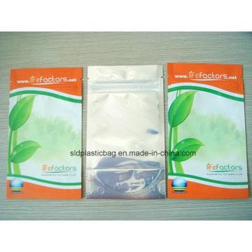 Пластиковый мешок горячего сбывания Pet / PE ламинированный для упаковки еды