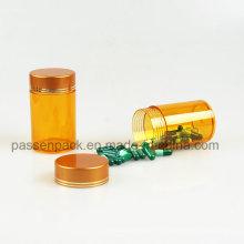 Янтарная бутылка для инъекций для австралийской упаковки рыбьего жира (PPC-PETM-007)