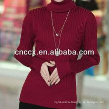 13STC5297 women sweater turtlenck pullover cashmere sweater