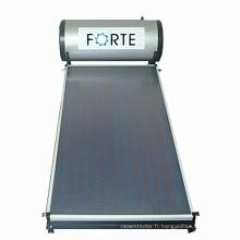 Collecteur de chaleur plat de tuyau de chaleur solaire de haute qualité
