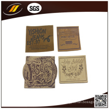 Wholesale Factory Direct Fashion Custom Leather Labels for Clothing