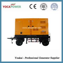 Shangchai 4-Stroke Engine 300kw Soundproof Diesel Generator