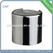 Good quality aluminium caps for glass bottles disc top cap