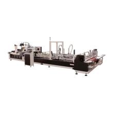AFG Automatic carton Folder Gluer Machine/carton box gluing packing machine