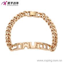 Xuping en gros haute qualité mode 18k or bijoux imitation Bracelet -73980