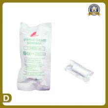 Fournitures médicales de bandage de gazon stérile (7.5 * 450cm)