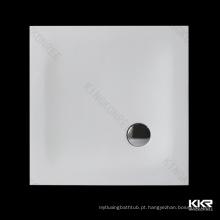 Base de duche irregular em resina de poliéster 800 x 800