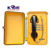 Водоустойчивая Коробка аварийного вызова телефона СУС