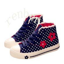 Hot Arriving Fashion Children′s Casual Canvas Shoes