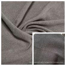 Polar Fleece Dyed Fabric DTY Double Side Brush