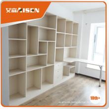 Diseño competitivo del precio en el gabinete del estante del libro
