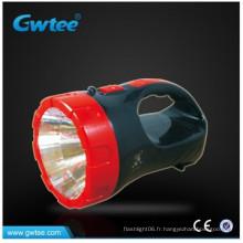 Portable 15 LED d'acide à base de plomb rechargeable LED d'urgence avec poignée