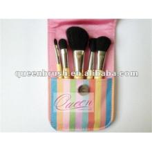 Mini 5PCS Portable Travel Makeup Brush Set
