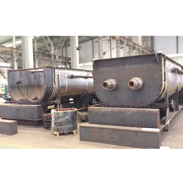Continuous Operation Type Hollow Paddle Drying Machine for Sludge