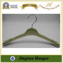 Metal Hook Plastic Gold Hanger Wedding Dress Hanger