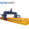 gantry moving beam drilling machine
