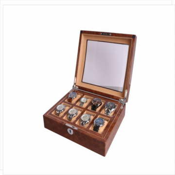 Velvet Lacquer Watch Box Case voor dames