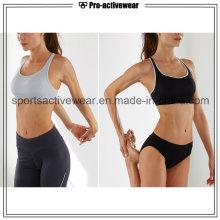 OEM Venta al por mayor de Sublimación de Yoga de impresión personalizada Sport Bras