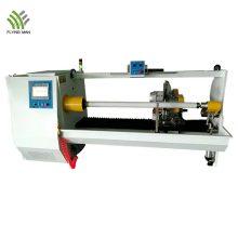 Máquina automática de corte de rolo de isolamento de PVC de eixo único