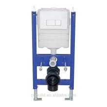 Citerne cachée de salle de bains de 3/6 litres avec le double bouton de chasse CBC-103