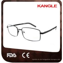 Günstigste wirtschaftliche Grundlinie Man Edelstahl optische Rahmen / Metall Brillen
