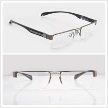 Óptico de los marcos de los medios ópticos del medio-Borde Eyewear P9854 Mens Marcos de las lentes (P9854)