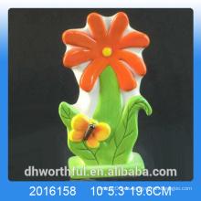 Humidificador de aire de cerámica de alta calidad de la flor para el sitio