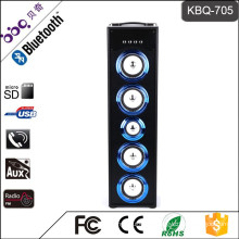 BBQ KBQ-705 45W 5000mAh 2016 Hot Selling Wireless Tower Home Theater Speaker