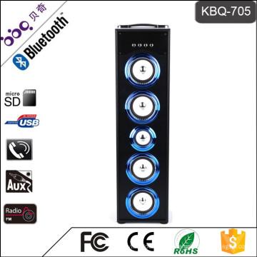 Altavoz de Subwoofer de la barbacoa KBQ-705 45W 5000mAh Bluetooth mini
