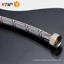 B17 hot water corrugated 304 braided flexible hose