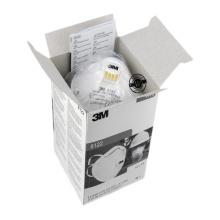 3M 8122 Aerosol filtering half Respirator Masks with Exhalation Valve 10 Pack