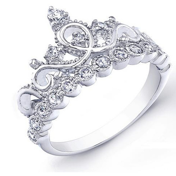 925 Sterling Silver Jewelry Ring Jewelry with CZ