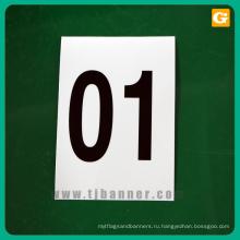Пользовательские печать персонализированные светоотражающие наклейки листов