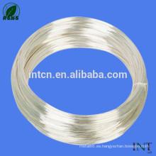 alambre de plata pura joyas 99.99 de alta pureza