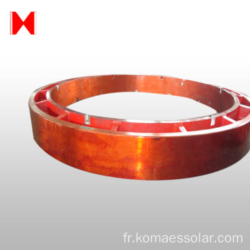 Bague d'engrenage de grand module OEM