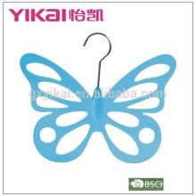 2015 butterflyshape PS cachecol de vestuário de plástico
