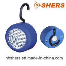 Lumière de travail à LED rond 24PCS avec crochet suspendu