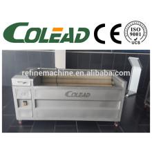 SUS 304Hot vender cebola descascador / escova tipo de limpeza de frutas e peeling máquina, máquina de descascar máquina de descascar batata / máquina de descascar