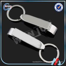 Personnalisé votre keychain d'ouverture de bouteille de logo, porte-clés et porte-clés d'ouverture de bouteille de qualité haute qualité