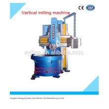 Fresadora vertical excelente e de alta precisão para venda quente com alta precisão