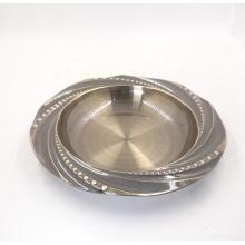 várias placas profundas do prato de sopa do jantar do aço inoxidável redondo do tamanho