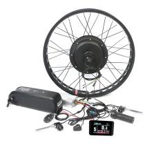 Best sale 48v 2000w rear wheel electric bike conversion kit for e bike with cheap price